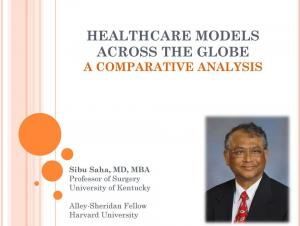 healthcare models analysis
